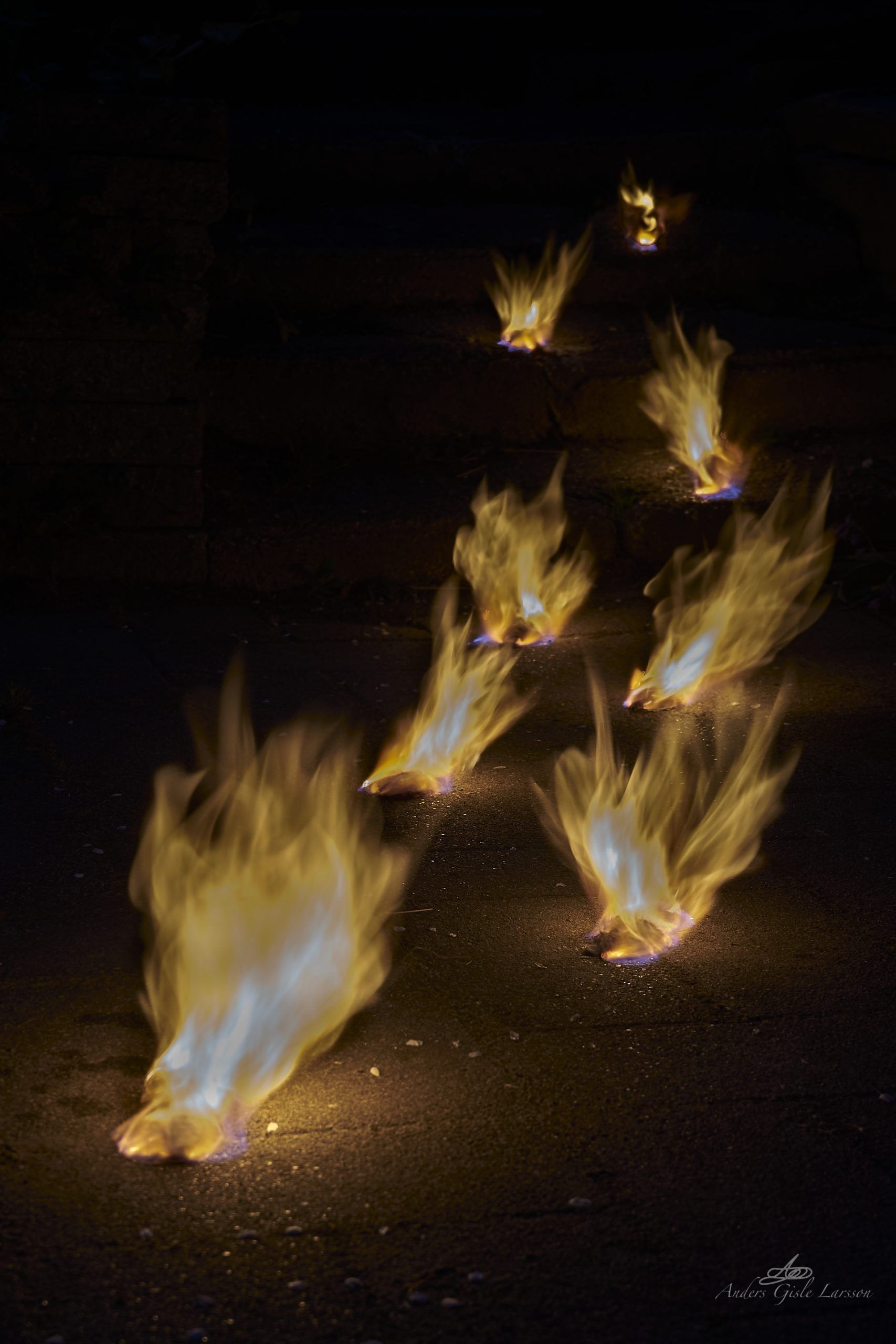 258/365, Fire Walk with me, Assentoft, Randers