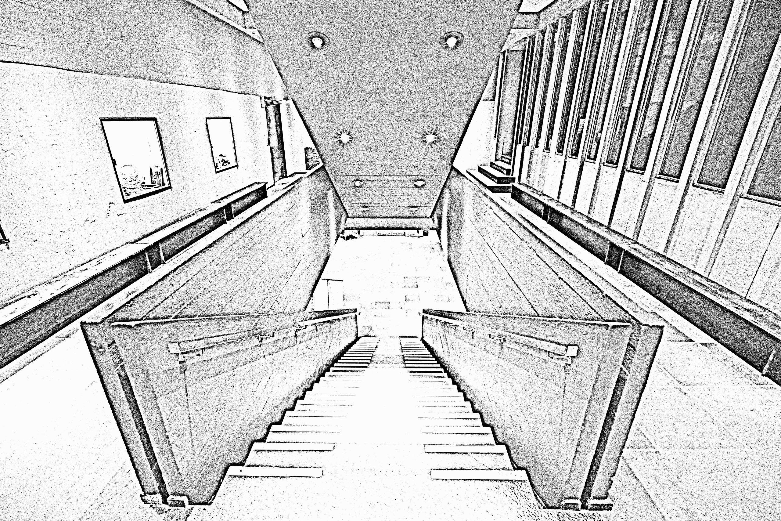 Etage, Kontur, Uge 8, 50/365, Kulturhuset, Randers