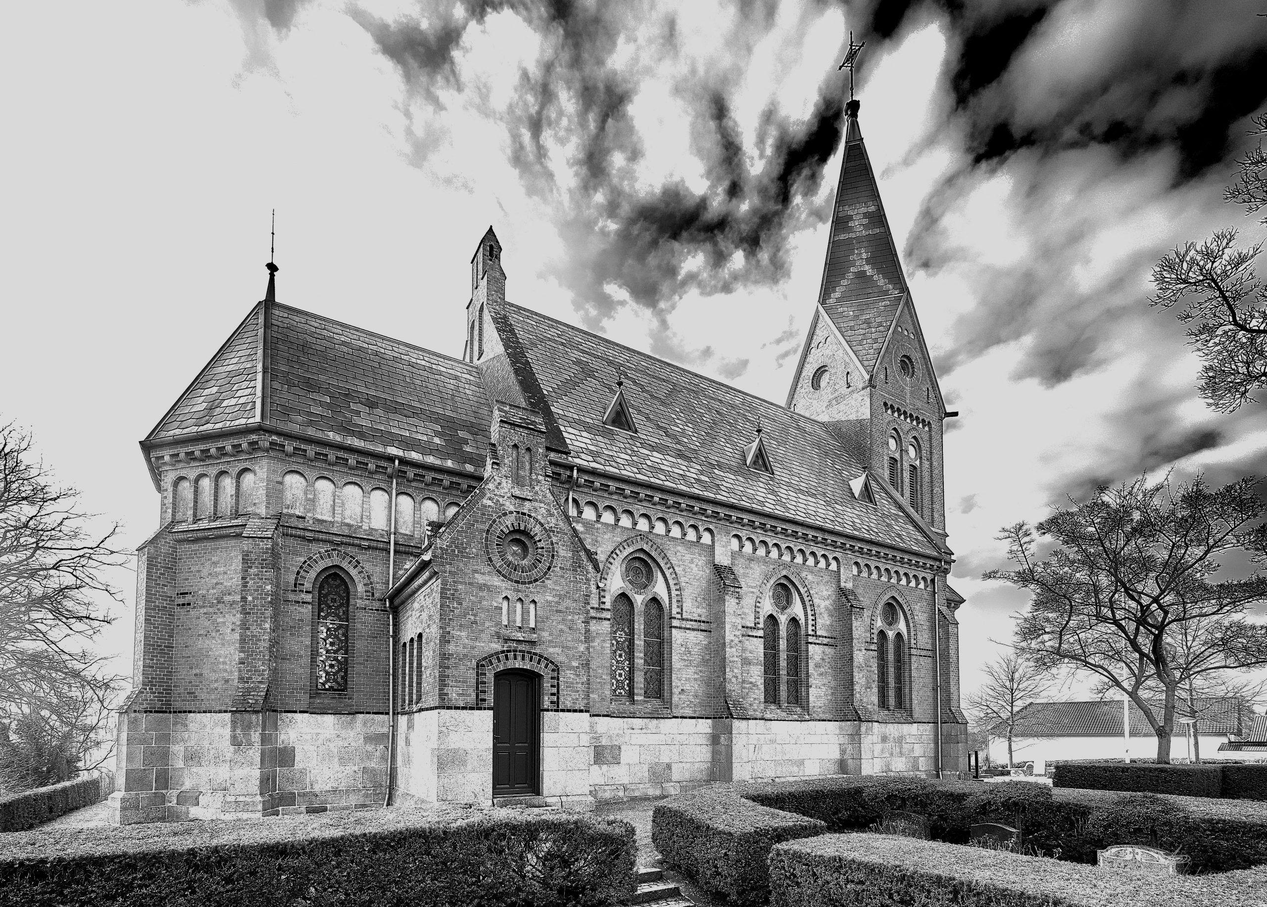 Landsbykatedralen, Kontur, Uge 8, 51/365, Storring Kirke, Galten