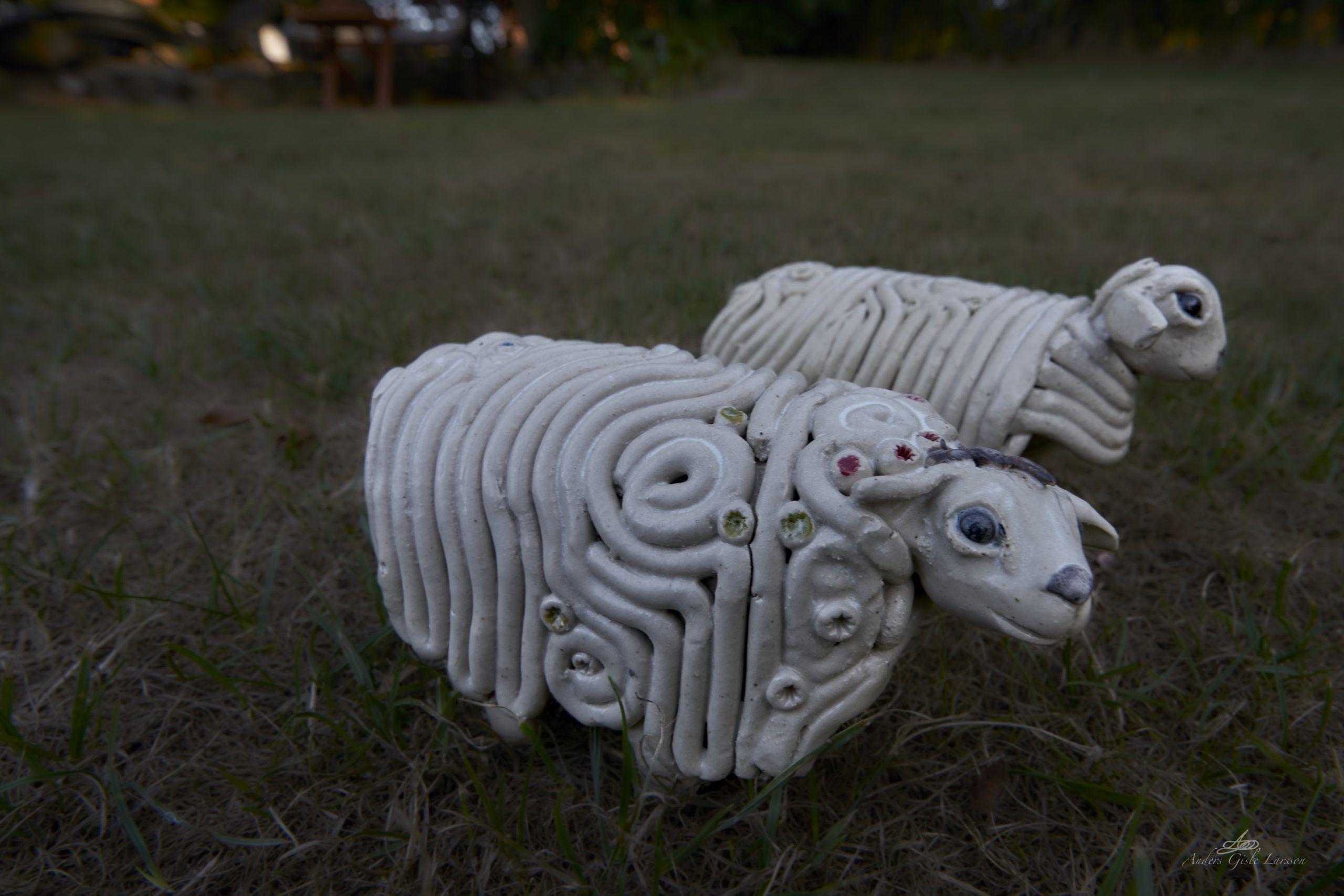 Garden Sheeps, 214/365, Uge 31, Assentoft, Randers