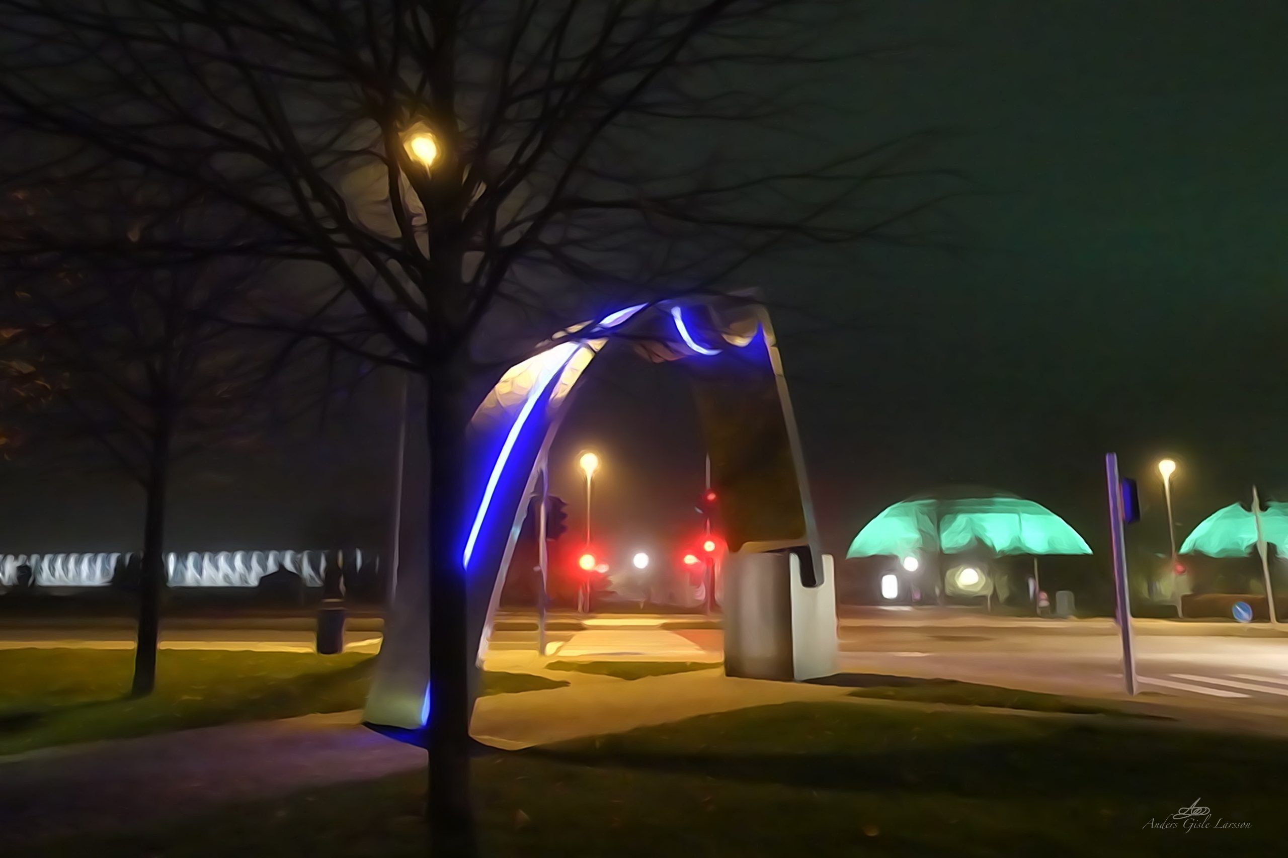 Byens Lys, 310/365, Uge 45, Laksetorvet, Randers