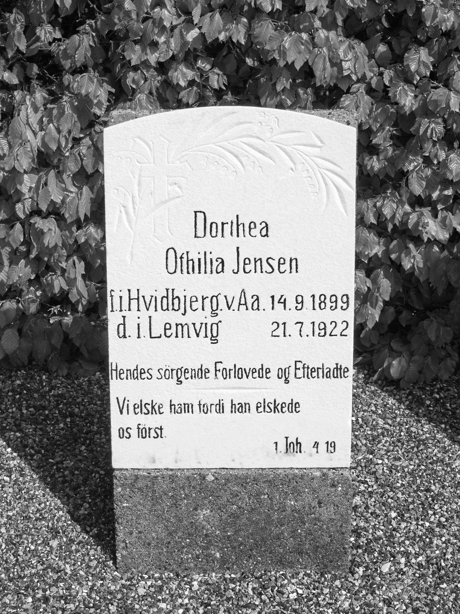 Dorthea Ottilie Jensen